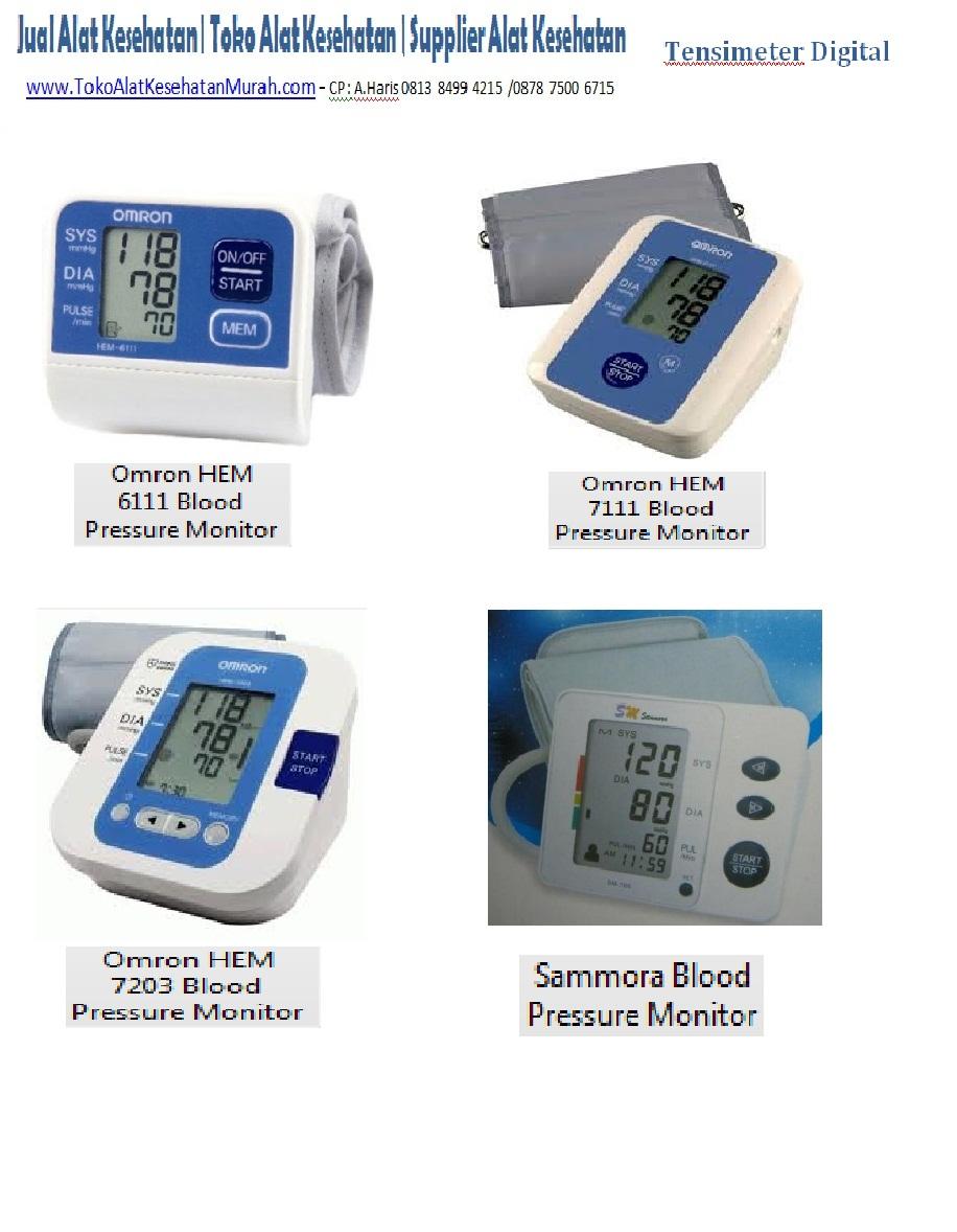 Tempat Jual Alat Kesehatan Pengukur Tensi Darah Digital Blood Ukur Pressure Monitor Tensimeter Harga Omron